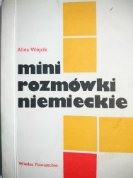 MINI ROZMÓWKI NIEMIECKIE - Alina Wójcik 1990