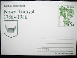 KARTKA POCZTOWA. NOWA TOMYŚL 1786-1986