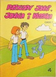 PRZYGODY JONKI, JONKA I KLEKSA CZĘŚĆ 1 - Szarlota Paweł 1988