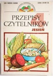 PRZEPISY CZYTELNIKÓW. JESIEŃ  1994