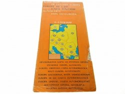 ROAD MAP OF EASTERN EUROPE 1 : 1 950 000