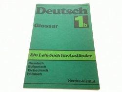 DETUSCH 1b GLOSSAR EIN LEHRBUCH FUR AUSLANDER