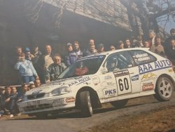 RAJD WRC 2005 ZDJĘCIE NUMER #317 HONDA CIVIC