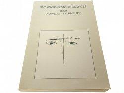 SŁOWNIK-KONKORDANCJA OSÓB NOWEGO TESTAMENTU (1991)