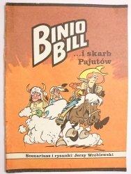 BINIO BILL I SKARB PAJUTÓW - Jerzy Wróblewski 1990