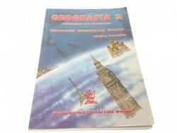 GEOGRAFIA 2 PODRĘCZNIK - Hanna Staniów (2000)
