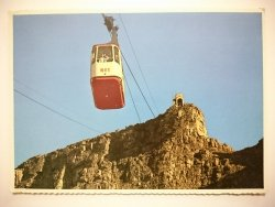 CAPE TOWN. SEVEN MINUTES TO THE TOP OF TABLE MOUNTAIN  AND SPECTACULAR VIEWS OF THE CITY AND PENINSULA