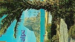 CALPE (ALICANTE) VISTA DEL PEŃÓN DE IFACH