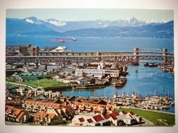 VANCOUVER, CANADA. VANCOUVER'S IMMENSE HARBOUR PHOTO: GEORGE HUNTER