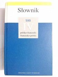 SŁOWNIK POLSKO-FRANCUSKI FRANCUSKO-POLSKI  2005