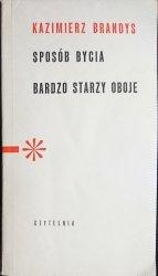 SPOSÓB BYCIA, BARDZO STARZY OBOJE - Brandys 1965