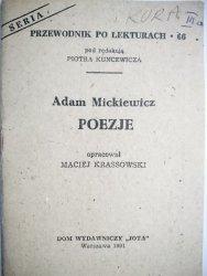 PRZEWODNIK PO LEKTURACH NR 66 POEZJE - Mickiewicz