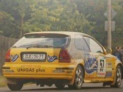 RAJD WRC 2005 ZDJĘCIE NUMER #315 HONDA CIVIC
