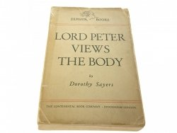 LORD PETER VIEWS THE BODY - Dorothy Sayers 1946