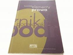 ELEMENTY PRAWA - Ryszard Seidel 1997