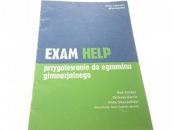 EXAM HELP. PRZYGOTOWANIE DO EGZAMINU 2012