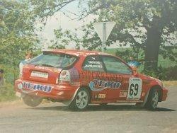 RAJD WRC 2005 ZDJĘCIE NUMER #021 HONDA CIVIC