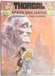 THORGAL. UPADEK BREK ZARITHA - Rosiński, Van Hamme 1990