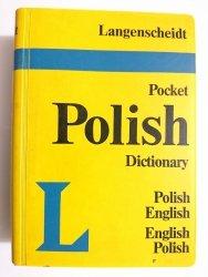 LANGENSCHEIDT'S POCKET POLISH DICTIONARY ENGLISH-POLISH POLISH-ENGLISH