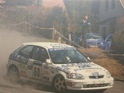 RAJD WRC 2005 ZDJĘCIE NUMER #303 HONDA CIVIC