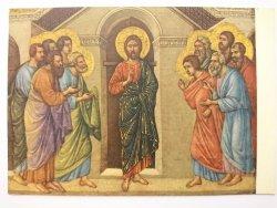 DUCCIO DI BUONINSEGNA. JESUS APPEARING