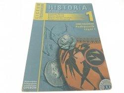 HISTORIA 1 PODSTAWOWY PODRĘCZNIK CZĘŚĆ 1 (2002)