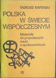 POLSKA W ŚWIECIE WSPÓŁCZESNYM - Kaferski 1984