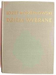 DZIEŁA WYBRANE TOM 1 SPEKULANT KOLLOKACJA - Józef Korzeniowski 1954