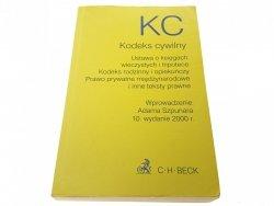 KODEKS CYWILNY I INNE TEKSTY PRAWNE 2000