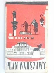 PLAN WARSZAWY 1968