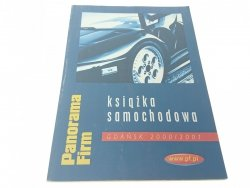 PANORAMA FIRM KSIĄŻKA SAMOCHODOWA GDAŃSK 2000/2001