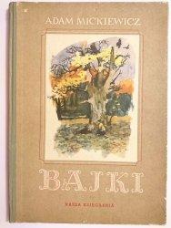 BAJKI - Adam Mickiewicz 1954