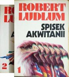 SPISEK AKWITANII TOM 1 i 2 - Robert Ludlum 1992