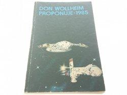 DON WOLLHEIM PROPONUJE 1985