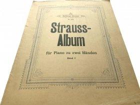 STRAUSS ALBUM FUR PIANO ZU ZWEI HANDEN BAND I