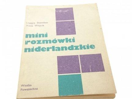MINI ROZMÓWKI NIDERLANDZKIE - Stembor, Wójcik 1984