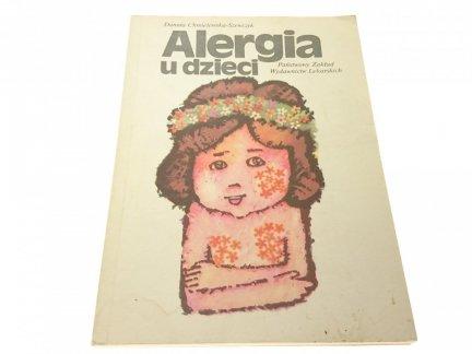 ALERGIA U DZIECI - Danuta Chmielewski-Szewczyk