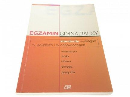 EGZAMIN GIMNAZJALNY 2002