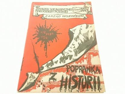 POPRAWKA Z HISTORII. OPINIE, KOMENTARZE