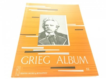 GRIEG ALBUM II. ZONGORARA - FUR KLAVIER - PIANO