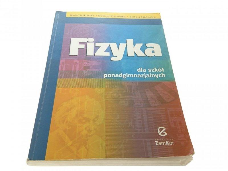 FIZYKA DLA SZKÓŁ PONADGIMNAZJALNYCH 2003