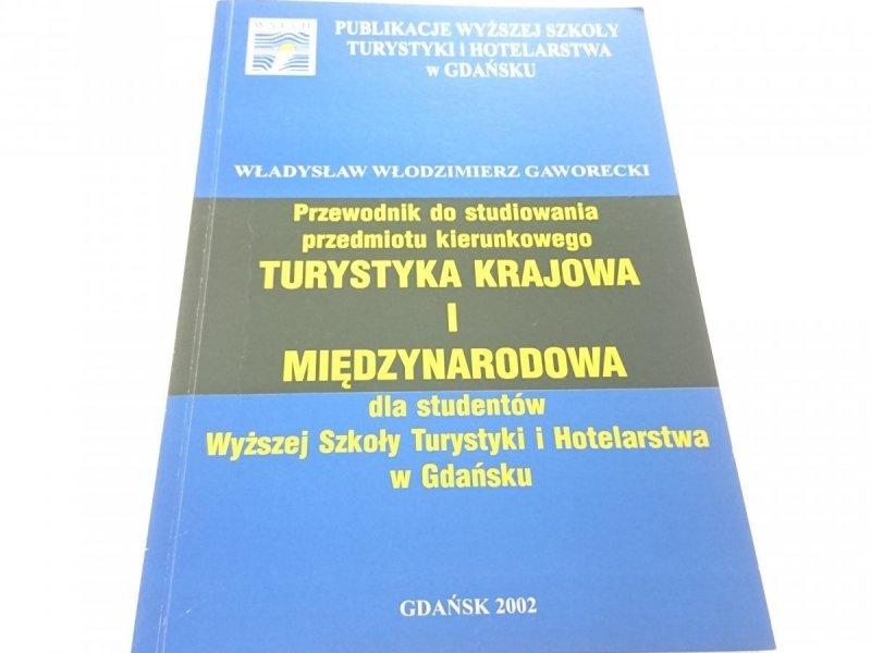 PRZEWODNIK DO STUDIOWANIA PRZEDMIOTU...2002