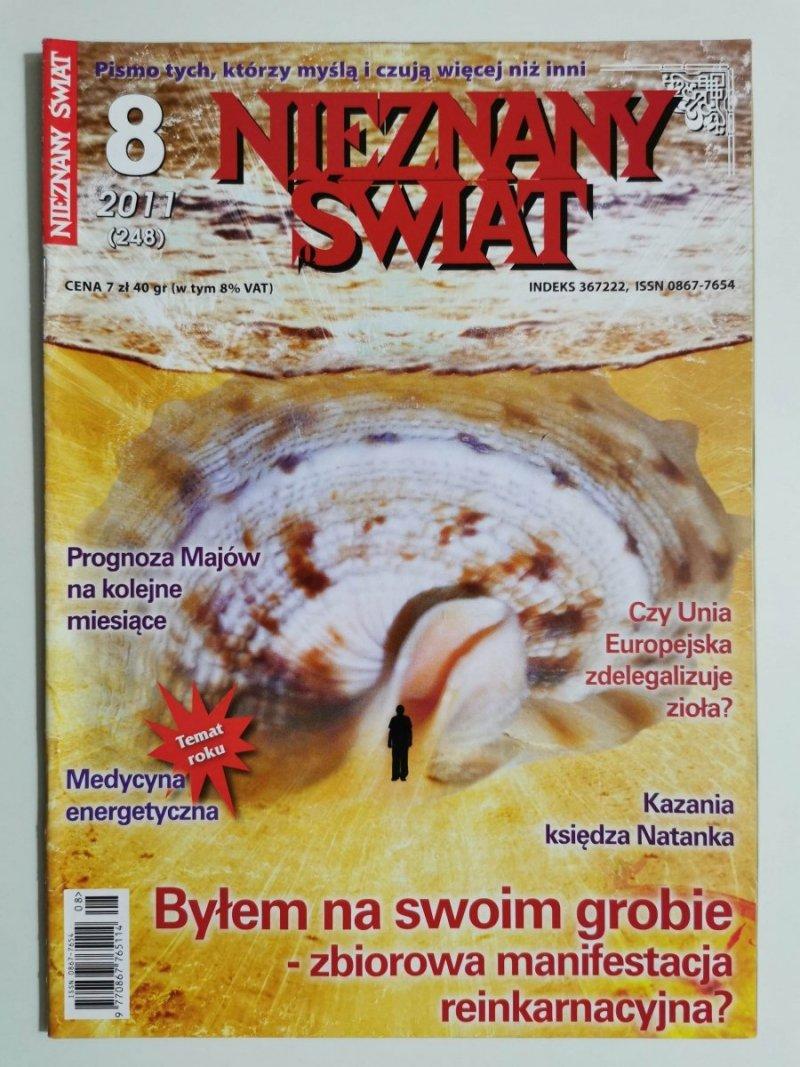 NIEZNANY ŚWIAT NR 8 2011 (248) BYŁEM NA SWOIM GROBIE