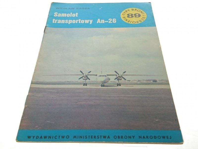 SAMOLOT TRANSPORTOWY An-26 - WIESŁAW KASZA