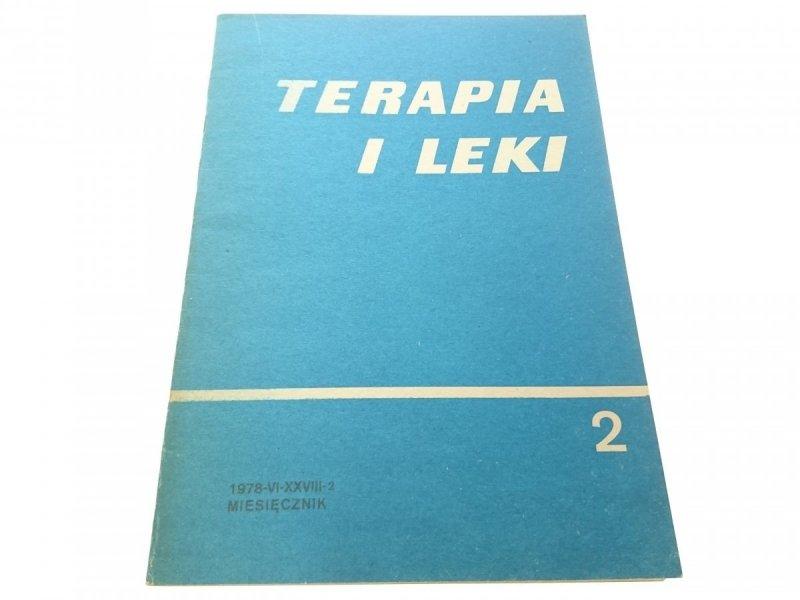 TERAPIA I LEKI . MIESIĘCZNIK 1978-VI-XXVII-2