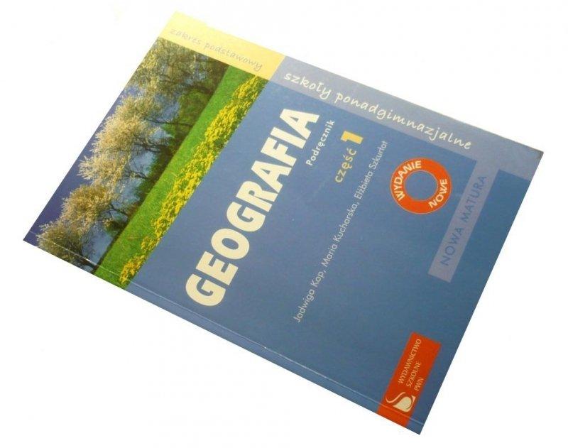 GEOGRAFIA CZĘŚĆ 1 PODRĘCZNIK - Jadwiga Kop 2006