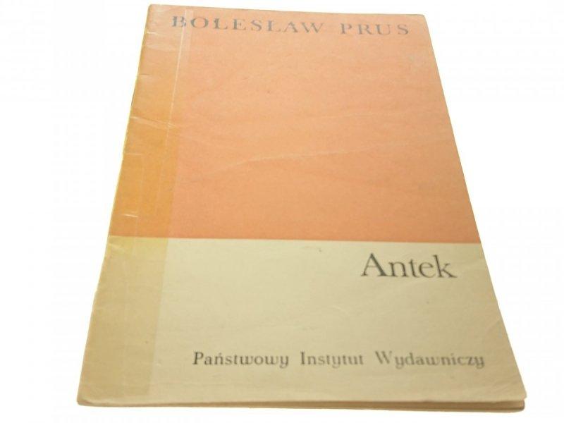 ANTEK - Bolesław Prus (1970)