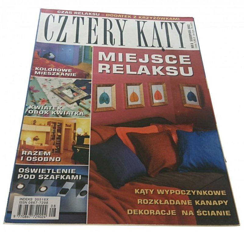 CZTERY KĄTY NR 8 SIERPIEŃ 2002
