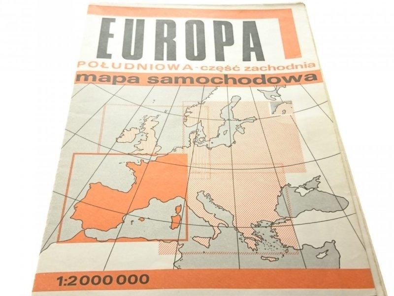 EUROPA POŁUDNIOWA - CZĘŚĆ ZACHODNIA 1980