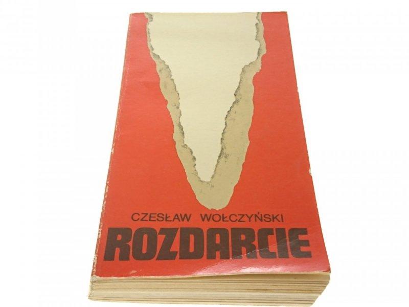 ROZDARCIE - Czesław Wołczyński